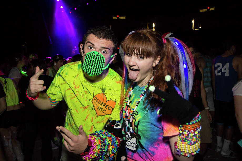 "Were You Seen at Foam N Glow ""World's Largest Foam Party"" at the Times Union Center in Albany on Saturday, November 2, 2013 Photo: Brian Tromans"