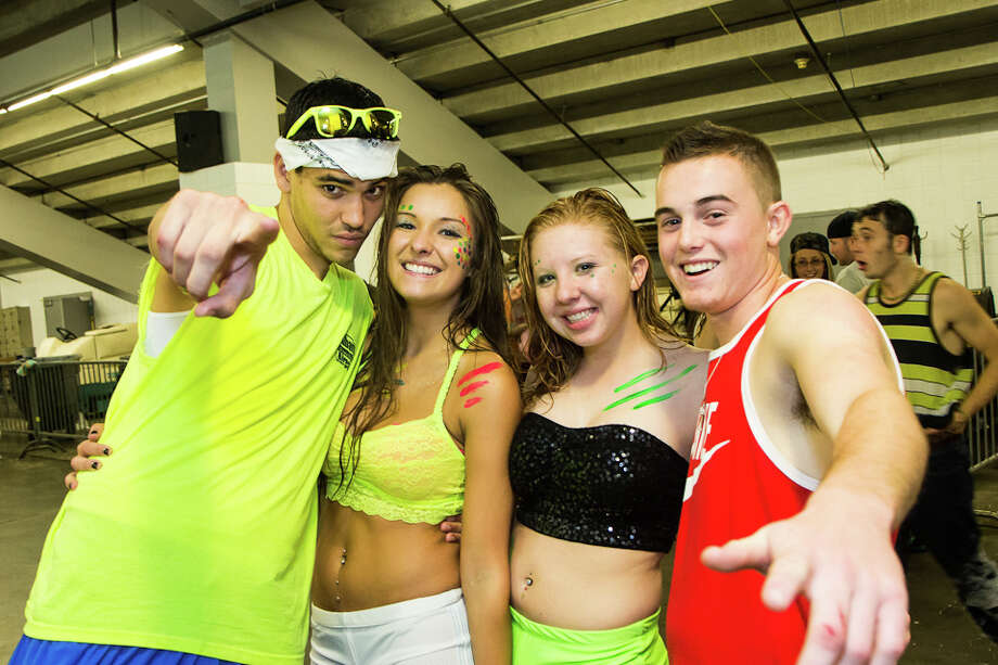 """Were You Seen at Foam N Glow """"World's Largest Foam Party"""" at the Times Union Center in Albany on Saturday, November 2, 2013 Photo: Brian Tromans"""