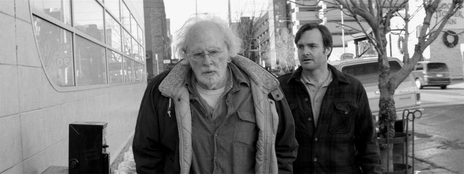 Bruce Dern and Will Forte from the Alexander Payne film Nebraska Photo: Paramount / © 2013 Paramount Pictures.  All Rights Reserved.