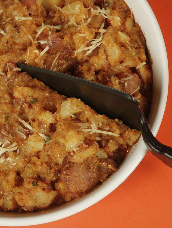 1/11/2007--Favorite recipe: Romano potatoes.  (Steve Ueckert / Chronicle) Photo: Steve Ueckert, Staff Photographer / Houston Chronicle