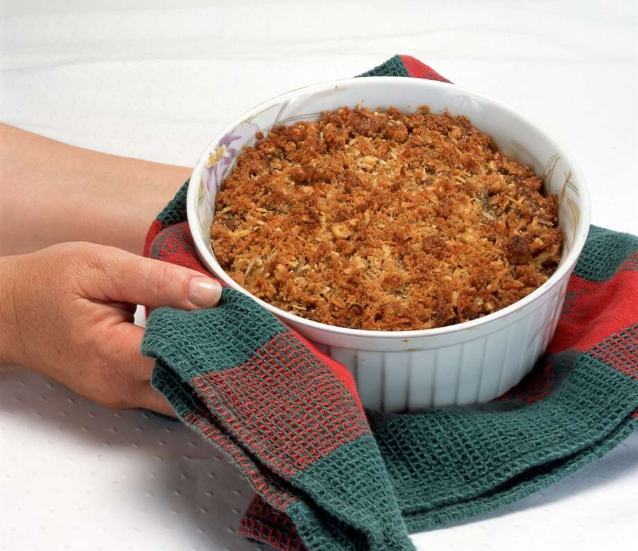KRT FOOD STORY SLUGGED: RECIPEDOCTOR KRT PHOTOGRAPH VIA HANDOUT (November 18) This sweet potato souffle is a favorite holiday side dish which can almost be enjoyed as a dessert. (KRT) NC KD 2002 (Horiz) (mvw) Photo: HANDOUT, HO / KRT