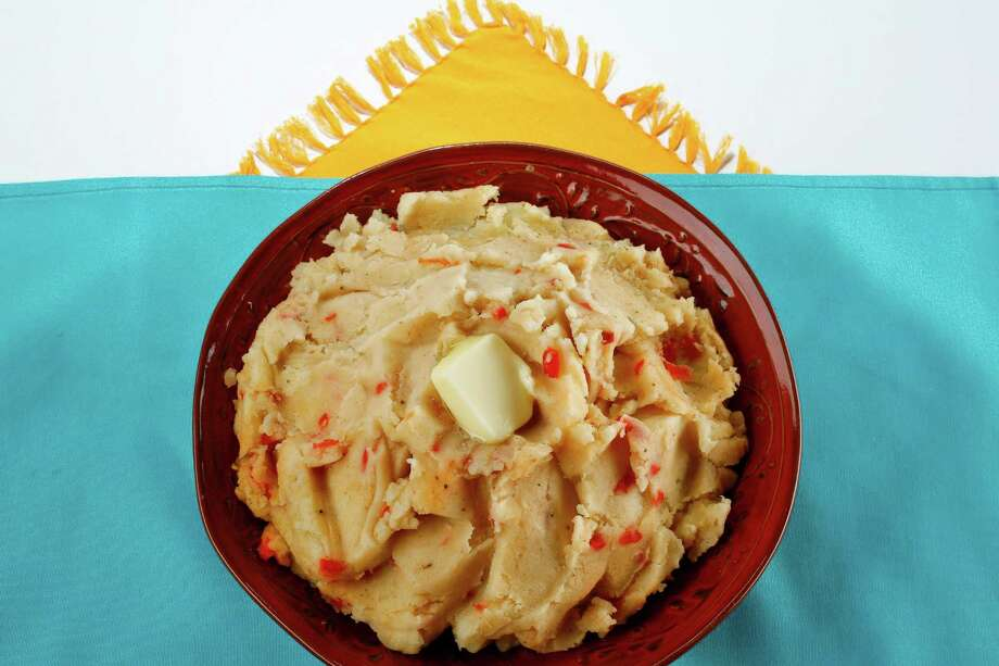 Cajun Mashed Potatoes.  Elizabeth Pudwill story. Thursday, June 4, 2009, in Houston. ( Michael Paulsen / Chronicle ) Photo: Michael Paulsen, Staff / Houston Chronicle