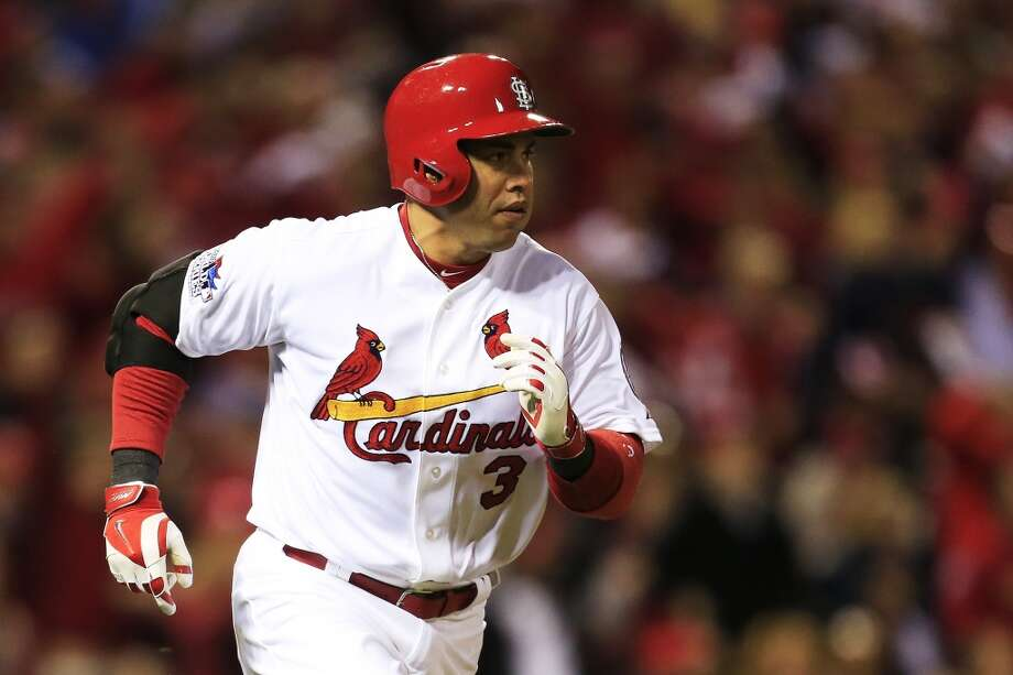 Carlos Beltran Outfielder 2013 stats: .296 batting average, 24 HRs, 84 RBI Old team: St. Louis Cardinals New team: New York Yankees  Photo: Dilip Vishwanat, Getty Images