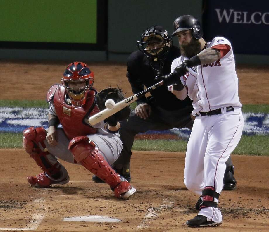 Mike Napoli First baseman 2013 stats: .259 batting average, 23 HRs, 92 RBI Re-signed by Boston Red Sox Photo: Charlie Riedel, Associated Press
