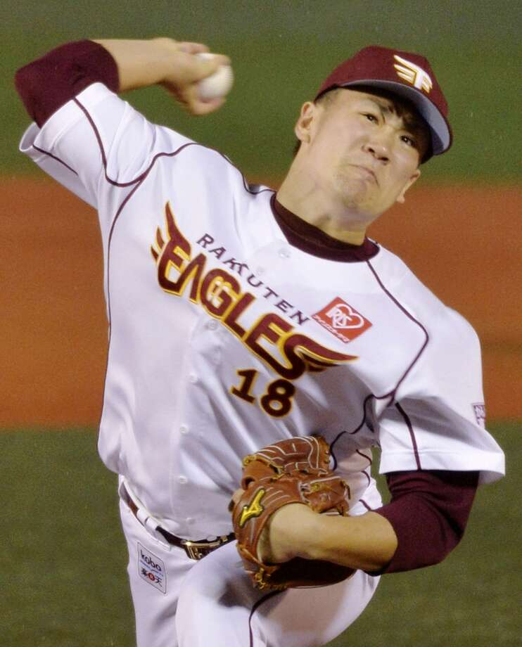 Masahiro Tanaka Starting pitcher Tohoku Rakuten Golden Eagles of the Japanese league 2013 stats: 20-0 record, 1.24 ERA New team: New York Yankees Photo: Associated Press/Kyodo News