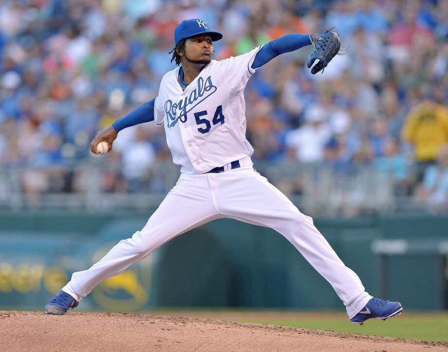 Ervin Santana Starting pitcher Kansas City Royals 2013 stats: 9-10 record, 3.24 ERA Photo: John Sleezer, MCT