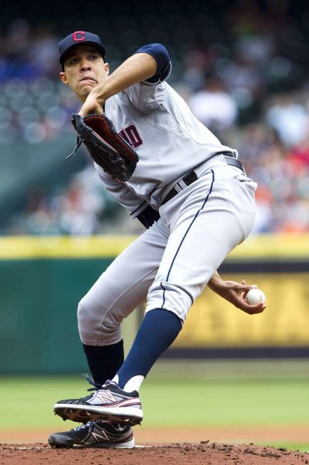 Ubaldo Jimenez Starting pitcher Cleveland Indians 2013 stats: 13-9 record, 3.30 ERA Photo: Brett Coomer, Houston Chronicle