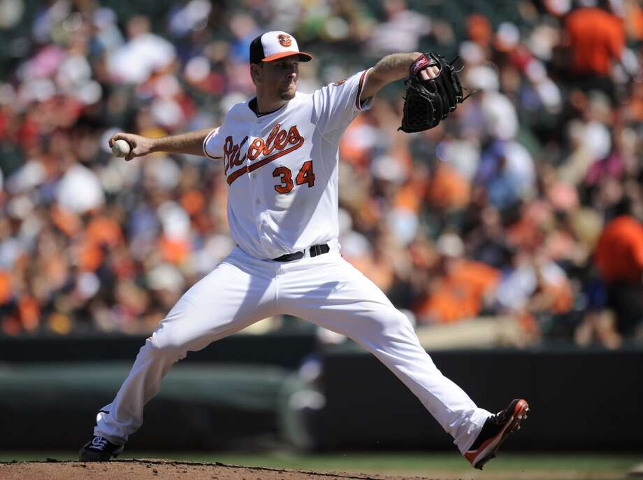 Scott Feldman Starting pitcher 2013 stats: 12-12 record, 3.86 ERA Old team: Baltimore Orioles New team: Astros Photo: Nick Wass, Associated Press