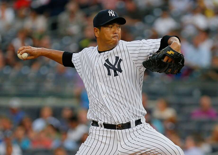 Hiroki Kuroda Starting pitcher Re-signed with New York Yankees 2013 stats: 11-13 record, 3.31 ERA Photo: Mike Stobe, Getty Images