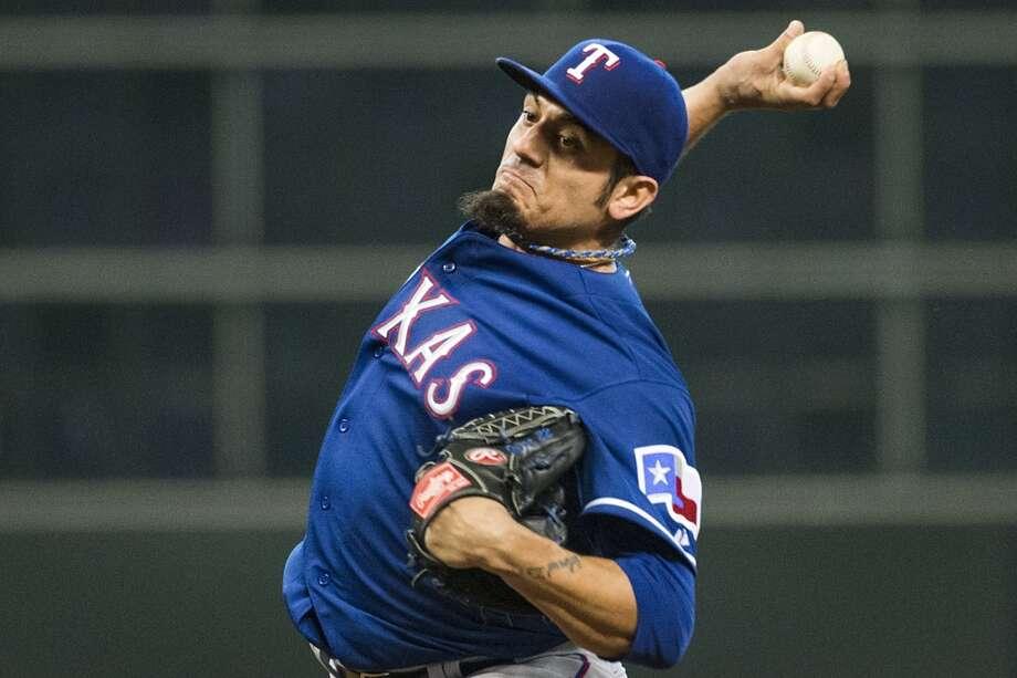 Matt Garza Starting pitcher 2013 stats: 10-6 record, 3.82 ERA Old team: Texas Rangers New team: Milwaukee Brewers Photo: Smiley N. Pool, Houston Chronicle