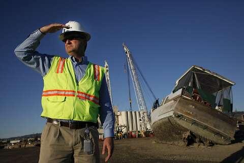 Tugboat rises from Davy Jones' locker off Oakland - SFGate