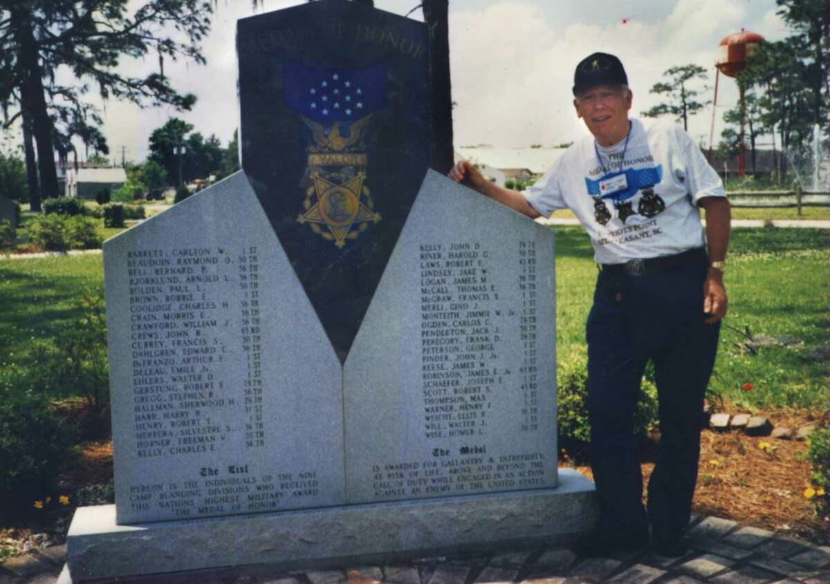 Medal of Honor winner Francis Currey is shown in a provided photo from 1998. (Times Union archive)