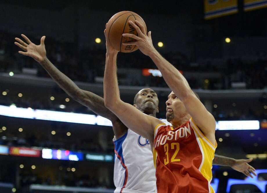 Francisco Garcia of the Rockets attempts a shot against the Clippers. Photo: Harry How, Getty Images