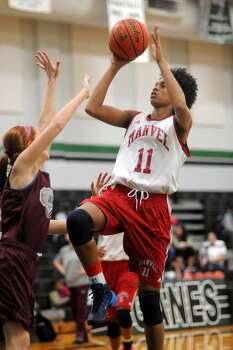 Manvel senior forward Brianna Turner (11) is one of the nation's best juniors and a three-time international gold medal winner with USA Basketball. Photo: Jerry Baker, Freelance