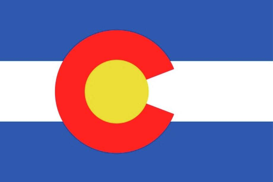 Colorado state flag Photo: Encyclopaedia Britannica/UIG, Getty Images/Universal Images Group / Universal Images Group