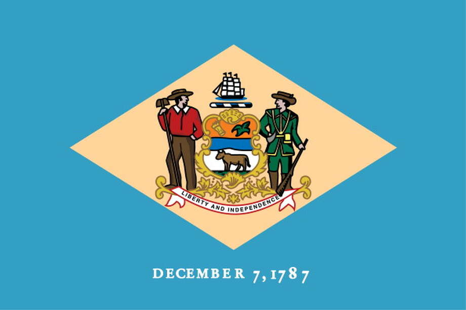 Delaware State Flag. (Photo By Encyclopaedia Britannica/UIG Via Getty Images) Photo: Encyclopaedia Britannica, UIG Via Getty Images / Universal Images Group Editorial