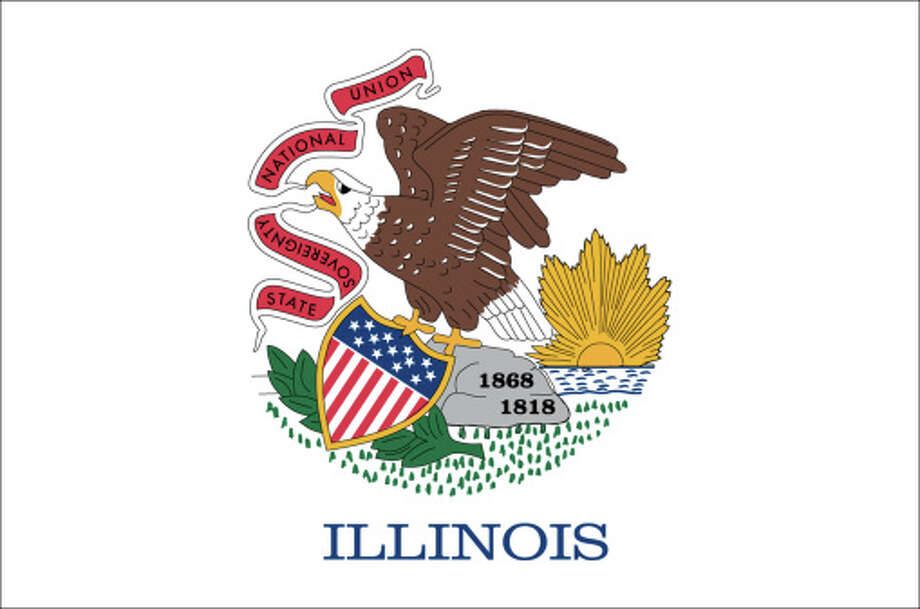 Illinois flag Photo: Antenna Audio, Inc., Getty Images/GeoNova / GeoNova