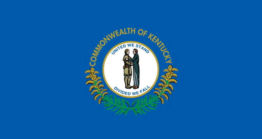 Kentucky State Flag. (Photo By Encyclopaedia Britannica/UIG Via Getty Images) Photo: Encyclopaedia Britannica, UIG Via Getty Images / Universal Images Group Editorial