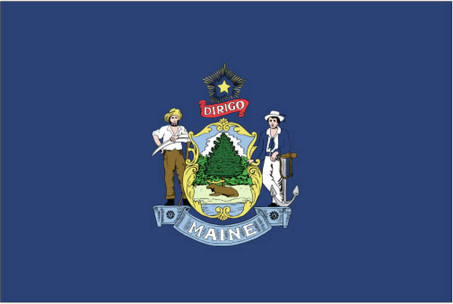 Maine flag Photo: Globe Turner, LLC, Getty Images/GeoNova Maps / GeoNova Maps