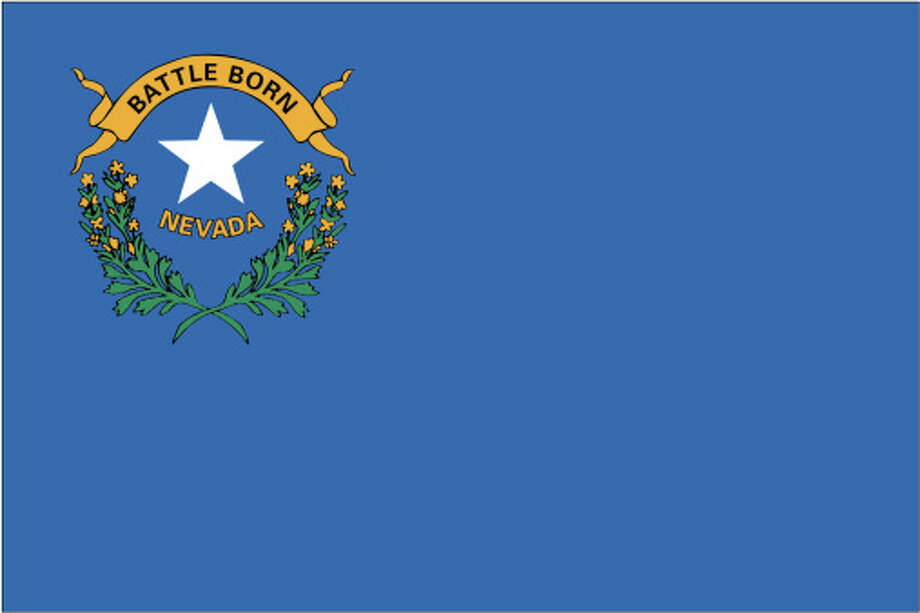 Nevada flag Photo: Globe Turner, LLC, Getty Images/GeoNova Maps / GeoNova Maps