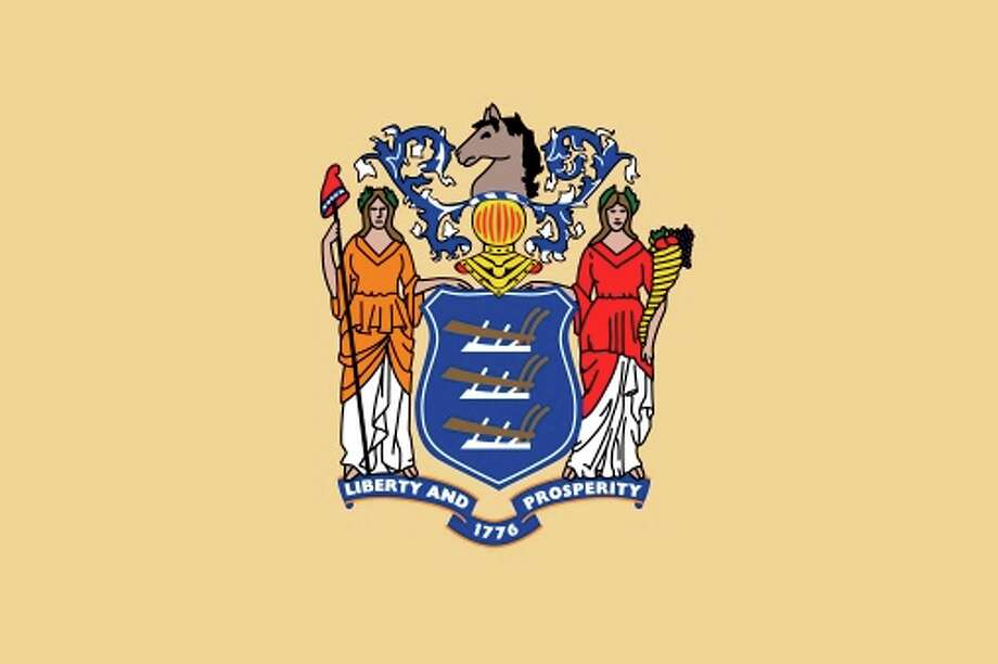 New Jersey state flag Photo: Encyclopaedia Britannica/UIG, Getty Images/Universal Images Group / Universal Images Group