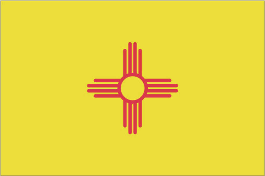 New Mexico flag Photo: Globe Turner, LLC, Getty Images/GeoNova Maps / GeoNova Maps