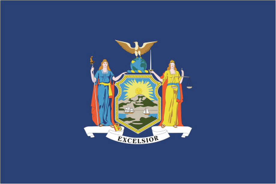 New York flag Photo: Globe Turner, LLC, Getty Images/GeoNova Maps / GeoNova Maps