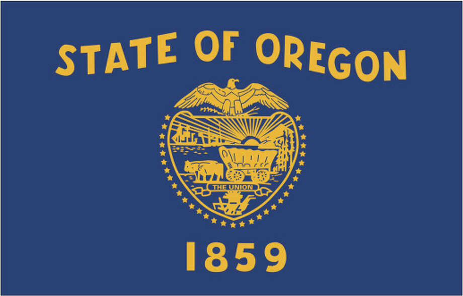 Oregon flag Photo: Globe Turner, LLC, Getty Images/GeoNova Maps / GeoNova Maps