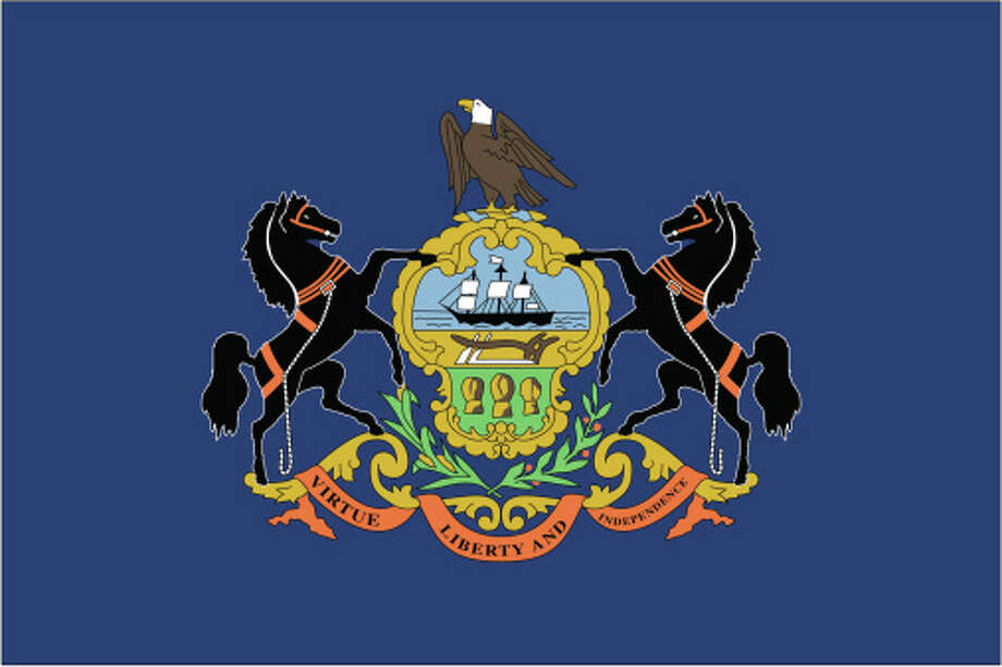 Pennsylvania flag Photo: Globe Turner, LLC, Getty Images/GeoNova Maps / GeoNova Maps