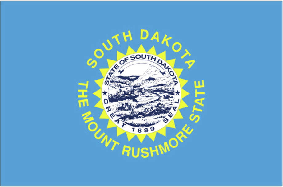 South Dakota flag Photo: Globe Turner, LLC, Getty Images/GeoNova Maps / GeoNova Maps