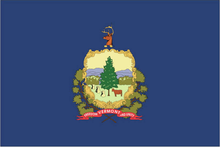 Vermont flag Photo: Globe Turner, LLC, Getty Images/GeoNova Maps / GeoNova Maps