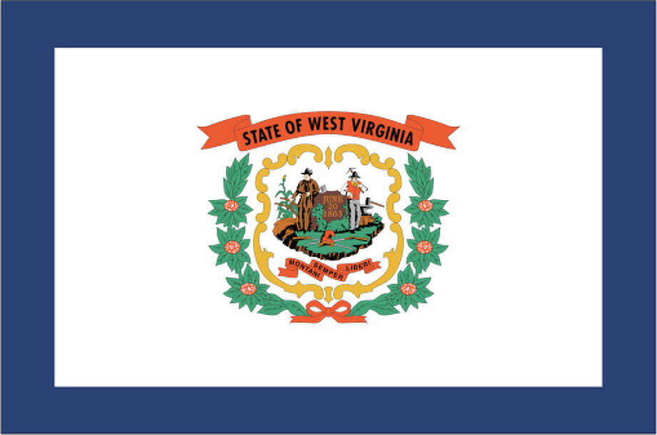 West Virginia flag Photo: Globe Turner, LLC, Getty Images/GeoNova Maps / GeoNova Maps