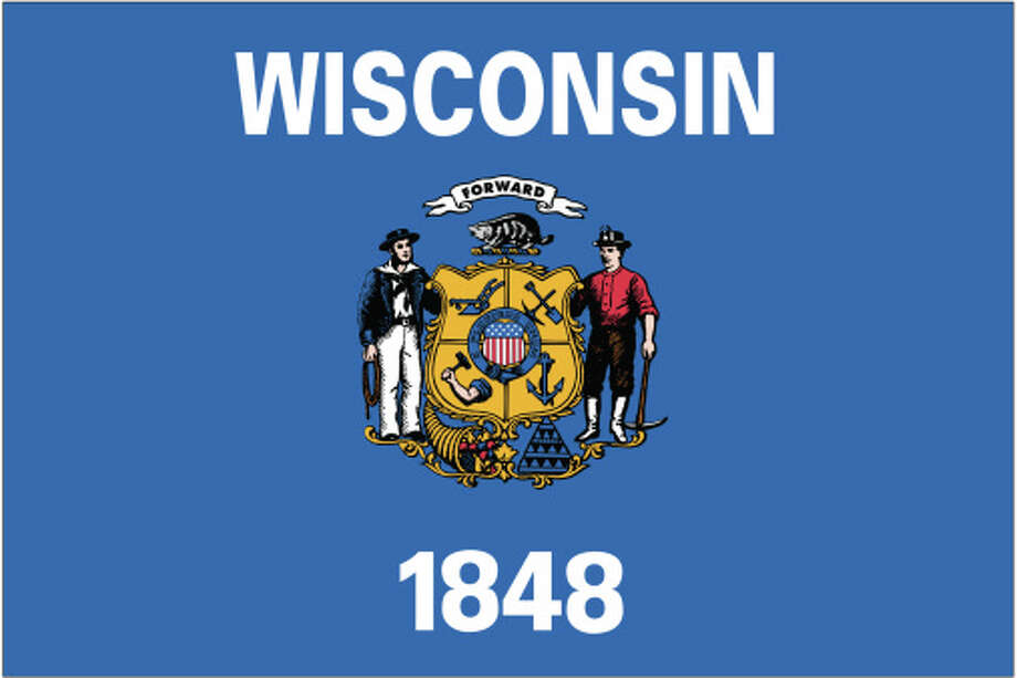 Wisconsin flag Photo: Globe Turner, LLC, Getty Images/GeoNova Maps / GeoNova Maps