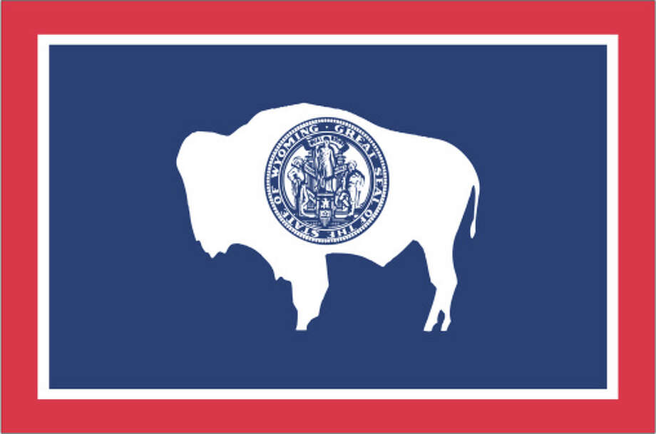 Wyoming flag Photo: Globe Turner, LLC, Getty Images/GeoNova Maps / GeoNova Maps