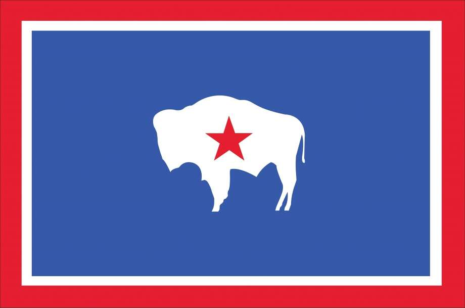 Wyoming: New flag