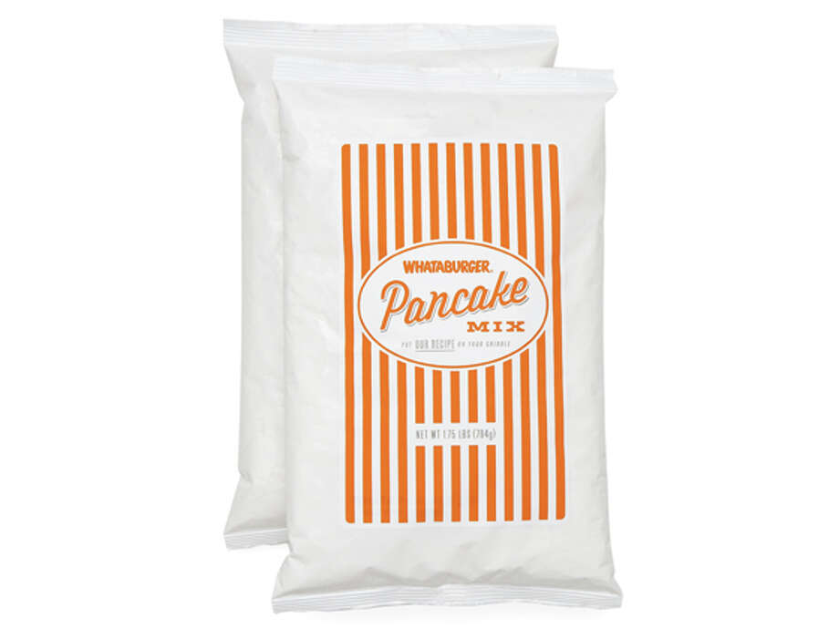 First came Whataburger ketchup and mustard at HEB stores. Now you can buy the fast food chain's famous pancake mix online. What will be next? Here are a few restaurant items we'd like to get our hands on. (Whataburger photo)