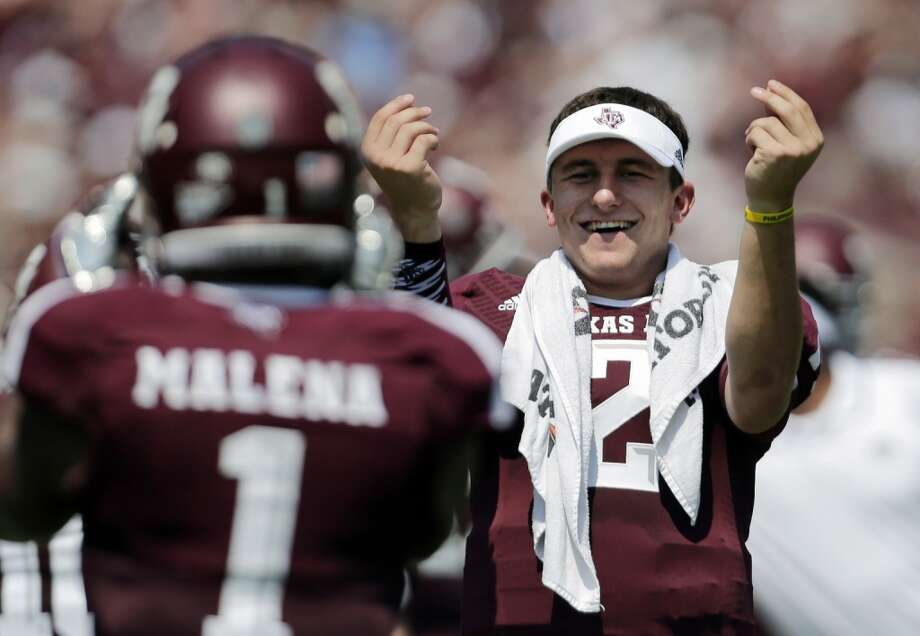Almighty Manziel loads up for (likely) final big home stand for Aggies.