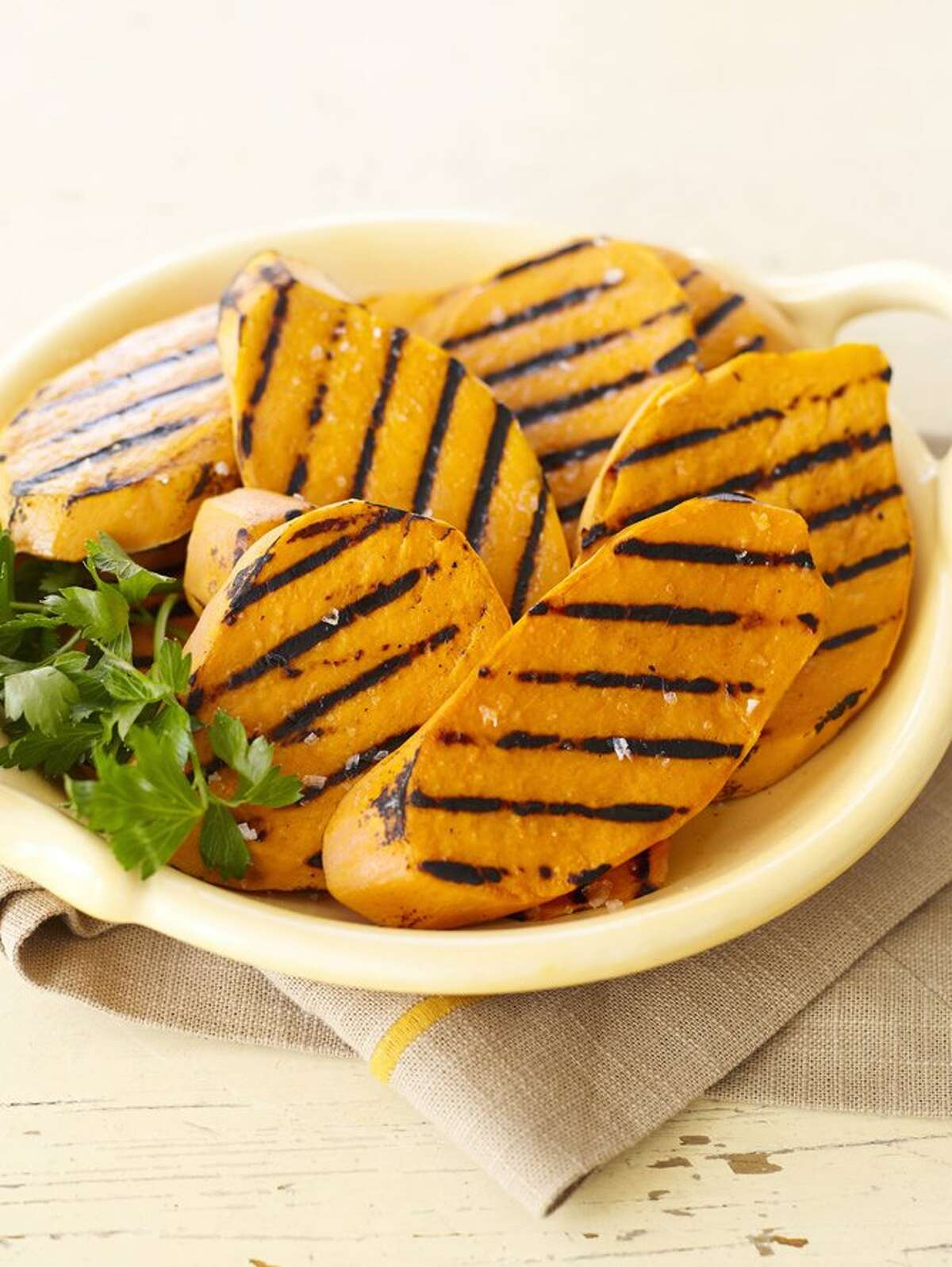 Good Housekeeping recipe for Grilled Sweet Potatoes.
