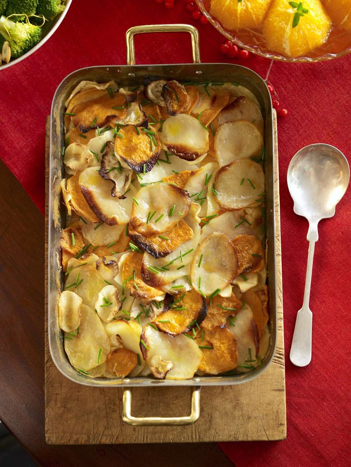 Good Housekeeping recipe for Potato and Root Vegetable Gratin.