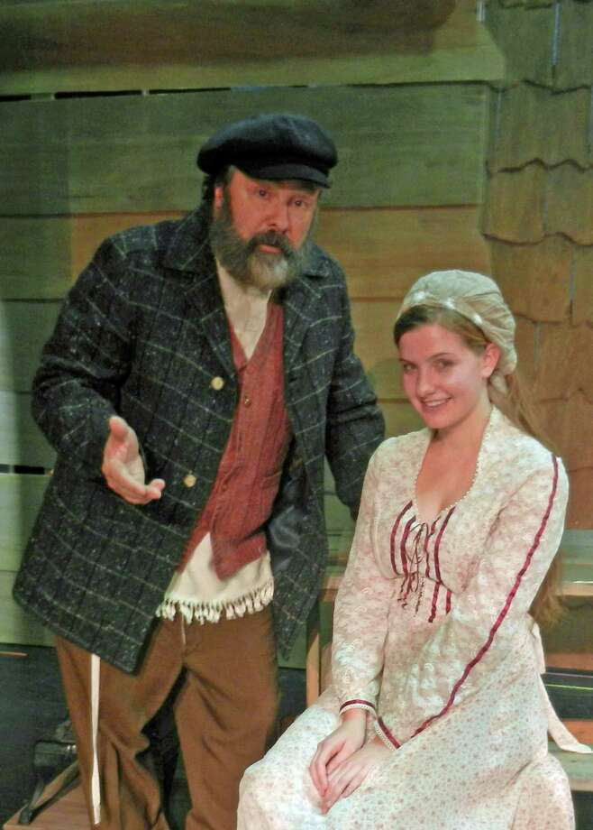 "Rachel Guth is a member of the cast of ""Fiddler on the Roof,"" produced by Curtain Call at The Kweskin Theatre in Stamford. Guth, with Lou Ursone, who plays Tevye, performed together before at the Summer Theatre of New Canaan. Photo: Contributed Photo, Contributed / New Canaan News Contributed"