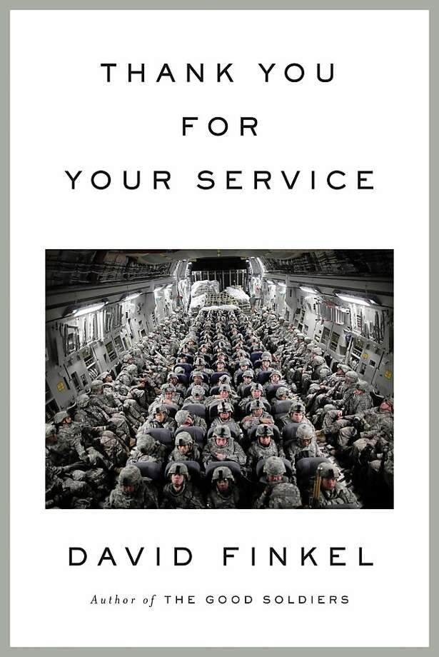 Thank You for Your Service, by David Finkel Photo: Sarah Crichton Books