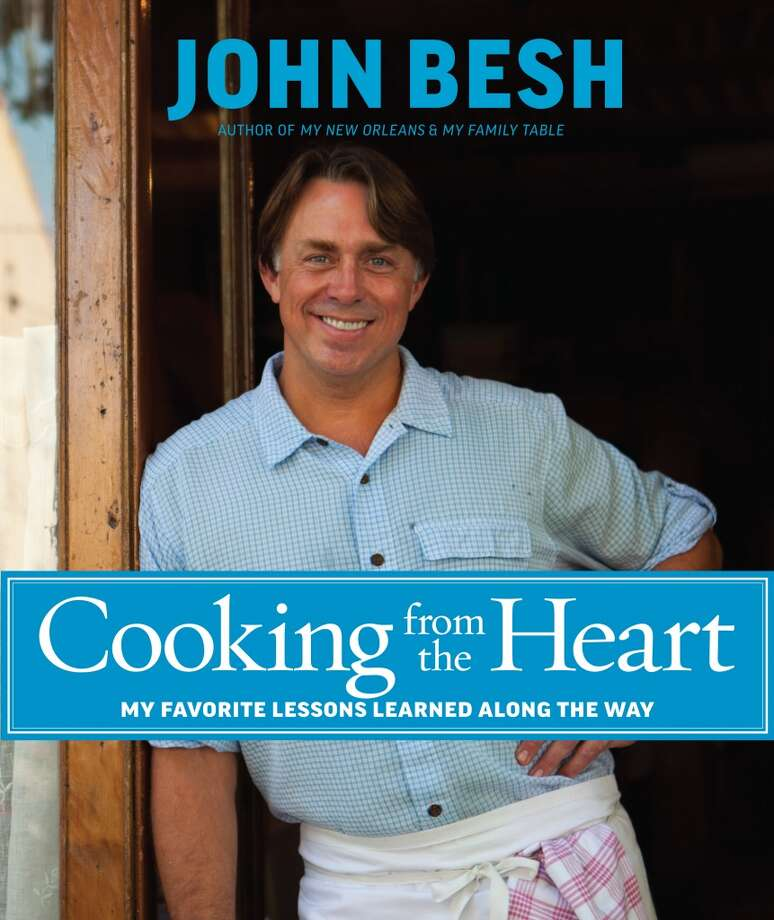 "Cover of ""Cooking from the Heart"" by John Besh. (Photo: Andrews McMeel)"