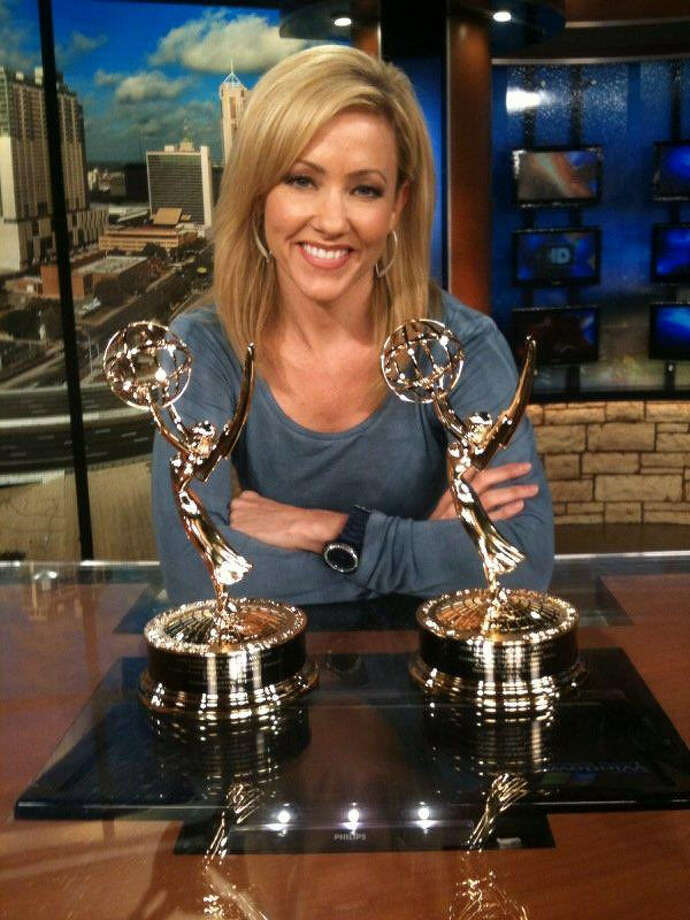 WOAI anchor Delaine Mathieu is hoping to win a fifth Emmy. Photo: Courtesy Delaine Mathieu