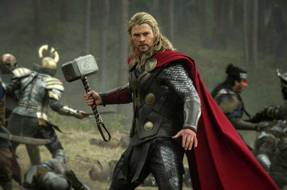 """Thor: The Dark World,"" starring Chris Hemsworth, has earned more than $100 million in international markets. Photo: Walt Disney Studios / Marvel"
