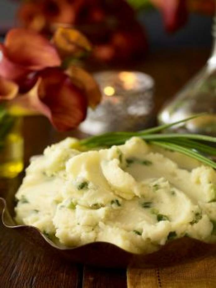 Buttermilk Mashed PotatoesButtermilk adds a rich tang to these potatoes. Read the recipe