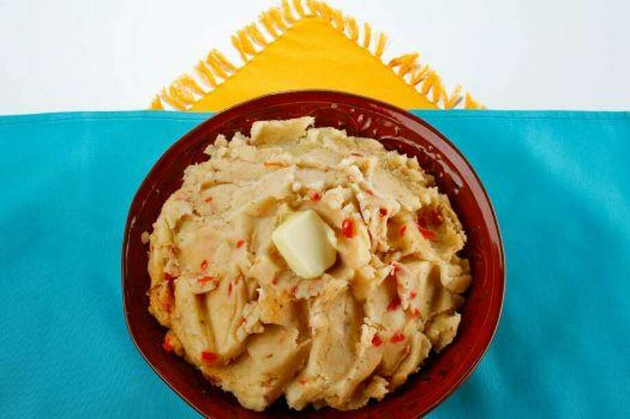 Cajun Mashed PotatoesCajun spice mix adds a Louisiana flair to these potatoes. 