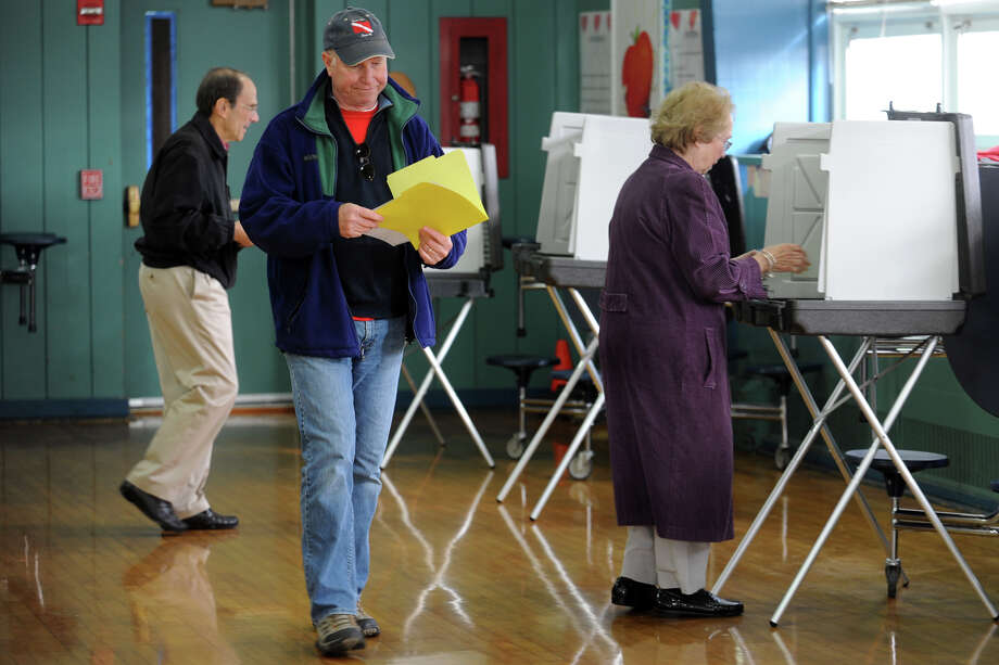 In 1988, there were more Republican voters making up the state than Democrats with the percentages being 52 against 48. Now the state has flipped and Democrats are in the lead for voters with the amount of 59 against 41 percent. Photo: Ned Gerard / Connecticut Post