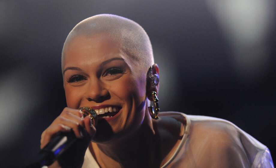 British singer Jessie J shaved her head earlier this year.  Photo: Getty