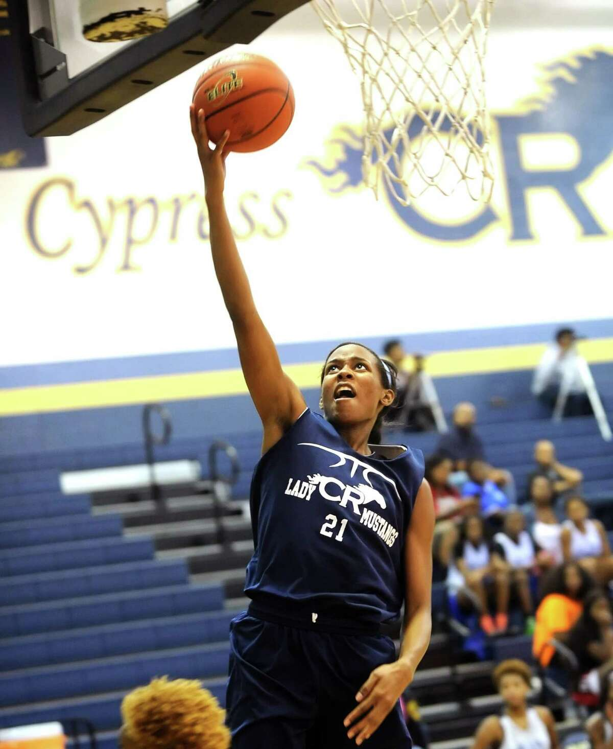 After missing most of last season with a knee injury, Cy Ranch's Sydney Coleman is ready to come back strong this year.