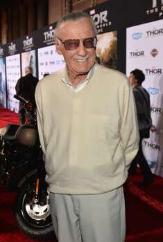 "Executive producer Stan Lee attends Marvel's ""Thor: The Dark World"" Premiere at the El Capitan Theatre on November 4, 2013 in Hollywood, California.  (Photo by Alberto E. Rodriguez/WireImage) Photo: Alberto E. Rodriguez, WireImage"